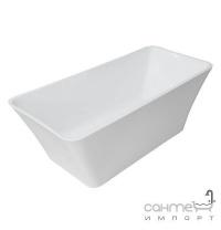 Акрилова ванна окремостояча з сифоном Volle біла (12-22-348)