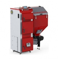 Твердотопливный котел DEFRO DUO UNI универсальный автоматическая подача топлива 50 кВт