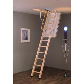 Чердачная лестница Polar Extrem Termo 120х60 см Minka деревянная с супер утепленным люком