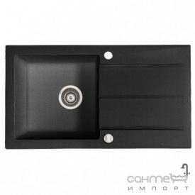Гранітна мийка Fancy Marble Tennessee Світло-чорний 106080004