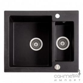Гранітна мийка Fancy Marble Arizona Світло-чорний 105060004