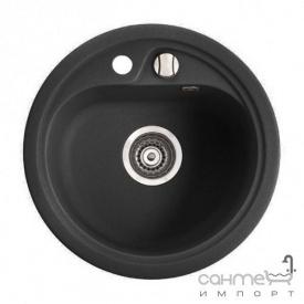 Гранітна мийка Fancy Marble Nevada Світло-чорний 104040004