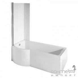 Шторка для ванны Besco Inspiro закаленное стекло прозрачное левая