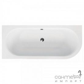 Асимметричная ванна Besco Avita 150x75 белая левая