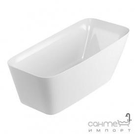 Ванна акриловая отдельностоящая Excellent Elida 160x72 белая