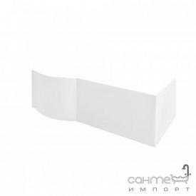 Передня+бічна панель до ванни Besco Inspiro 150 біла ліва