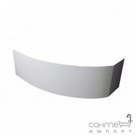 Передняя панель к ванне Rima 130x85 Besco PMD Piramida белая левая