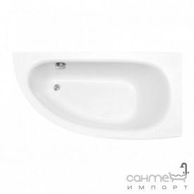 Асимметричная ванна Besco PMD Piramida Milena 150x70 белая правая