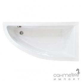 Асиметрична ванна Besco PMD Piramida Praktika 140x70 біла права