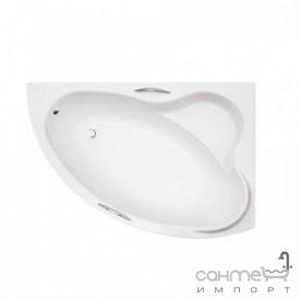 Асимметричная ванна Besco PMD Piramida Ada 140x90 белая правая