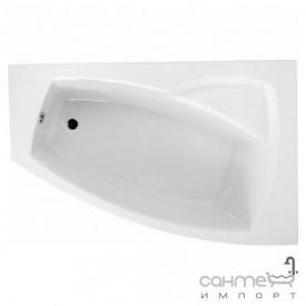 Ассиметричная ванна Polimat Frida II 160x105 P 00978 белая правая