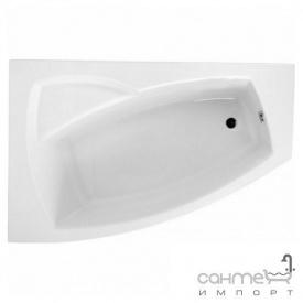 Асиметрична ванна Polimat Frida II 160x105 L 00977 біла ліва