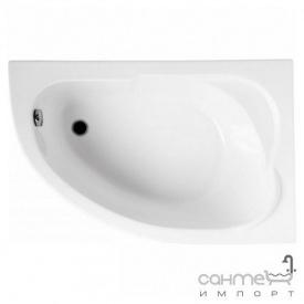 Ассиметричная ванна Polimat Standard 130x85 P 00343 белая правая