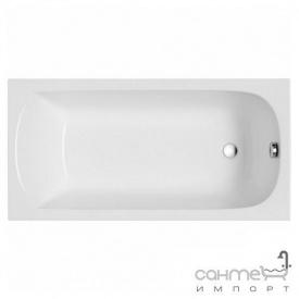 Прямокутна ванна Polimat Classic 140x70 00244 біла