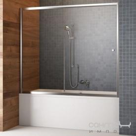 Шторка для ванны раздвижная Vesta DWJ 170 209117-01-01 хром прозрачное