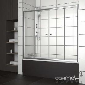 Шторка для ванни розсувні в нішу Radaway Vesta DWD 170 203170-01 прозоре
