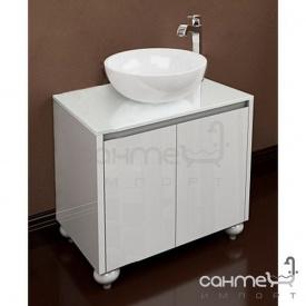Підлогова Тумба для ванної кімнати 900 без раковини Marsan Penelope чорний