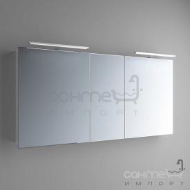 Зеркальный шкафчик с LED-подсветкой Marsan Therese-5 650х1500 графит