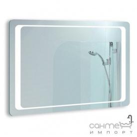 Зеркало для ванной комнаты с LED подсветкой Liberta Modern 1000x700