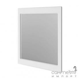 Зеркало Аква Родос Беатриче 80 белое патина хром