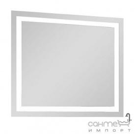 Зеркало с LED-подсветкой Аква Родос Альфа 100