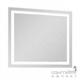 Зеркало с LED-подсветкой Аква Родос Альфа 80