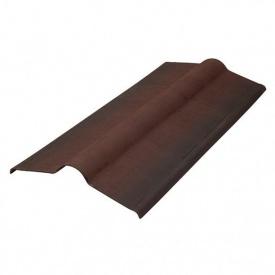 Конькова деталь Керамопласт 1200х250 мм коричневий