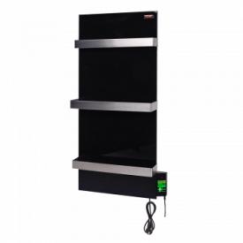 Керамический полотенцесушитель DIMOL Standart 07 с терморегулятором черная