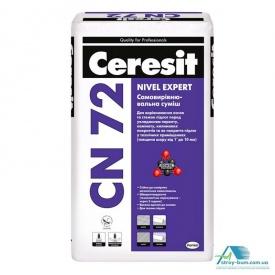 Самовирівнююча суміш Ceresit CN-72 25 кг 2-10 мм
