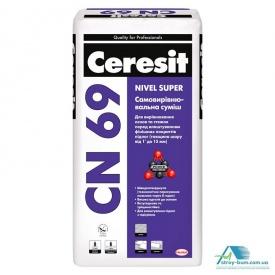 Самовирівнююча суміш Ceresit CN-69 25 кг 3-15 мм