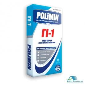 Гидроизоляционная смесь Polimin Гi-1 Аква-барьер 25 кг