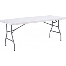 Стол складной Time Eco TE-1807 1,8 м Белый