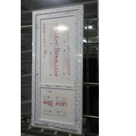 Двери межкомнатные металлопластиковые белые 800х2000 мм