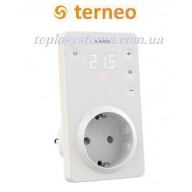 Терморегулятор Terneo srz з сенсорними кнопками розетковий