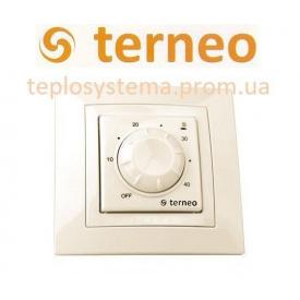 Терморегулятор Terneo rol unic для обігрівачів слонова кістка