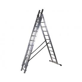 Трехсекционная лестница VIRASTAR DW 3 PROFI LIGHT 3x12 ступеней