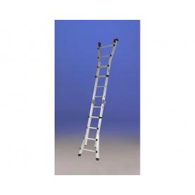 Телескопическая лестница SVELT SCALISSIMA ELITE 12+12 ступеней