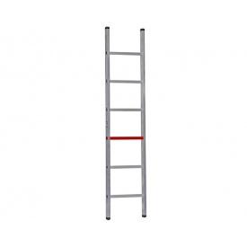Односекционная алюминиевая лестница Unomax Pro VIRASTAR 6 ступеней