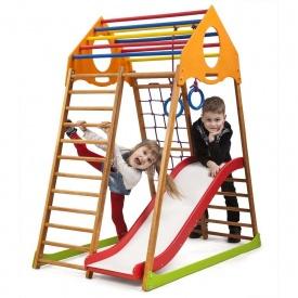 Детский спортивный комплекс для дома KindWood Plus 1 SportBaby