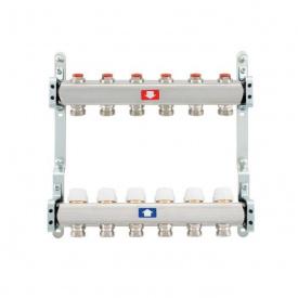 Коллектор для теплого пола Itap 1x3/4 на 6 выходов без расходомеров