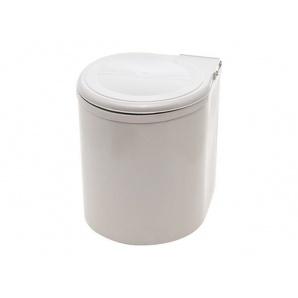 Ведро 10л для мусора INOXA серый