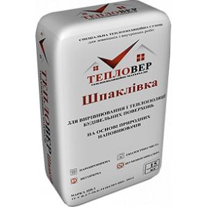 Теплоизоляционная смесь Тепловер Шпаклевка