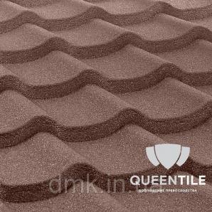 Композитна черепиця QueenTile Standard 6-тайловый Coffee