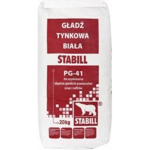 Шпаклівка STABILL PG-41 20 кг