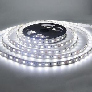 Світлодіодна стрічка BIOM SMD5050-60 IP20 стандарт біла