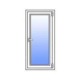 Металопластикове вікно Стімекс Кommerling 88+ 750х1300 мм