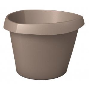 Кашпо для квітів Trigon пластик 30 коричневий