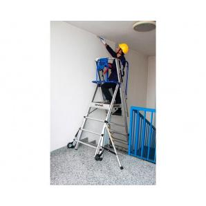 Двосторонні телескопічні сходи-поміст SVELT TELEFLY 4 сходинки