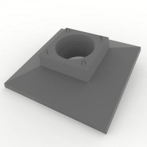 Опорна плита для анкерно-кутової опори ОП2