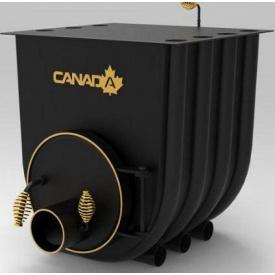 Булерьян отопительная печь CANADA с варочной поверхностью 02 18 кВт 450 м3
